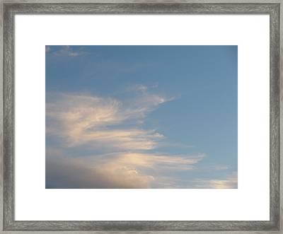 Florida Sky I Framed Print by Suzanne Fenster