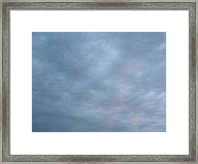 Florida Sky II Framed Print by Suzanne Fenster