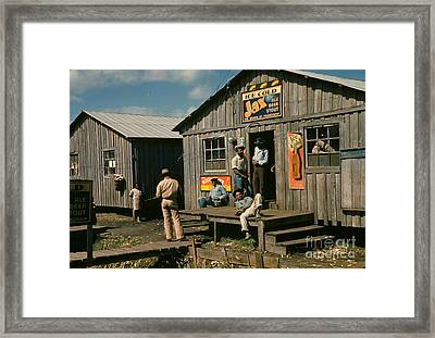 Florida: Workers, 1941 Framed Print by Granger