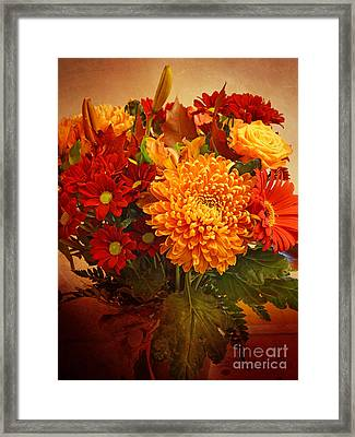 Floristan Framed Print