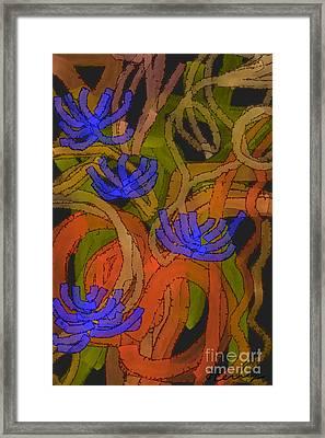 Flourishes Framed Print