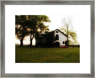 Flourtown Framed Print by Bill Cannon