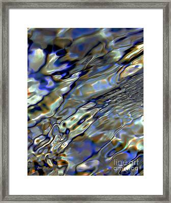 Flow Framed Print by Dale   Ford