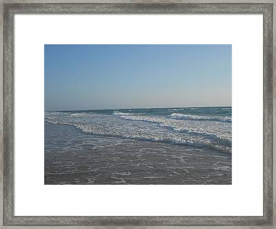 Flow Of Grace Framed Print by Sheila Silverstein