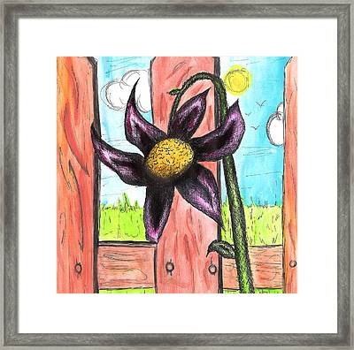 Flower 13th Framed Print