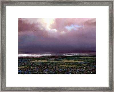 Flower Beach Framed Print by Robert Foster