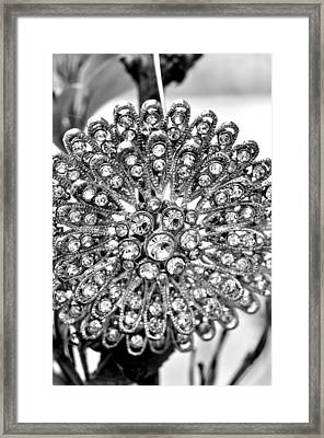 Flower Clap Framed Print by Puzzles Shum