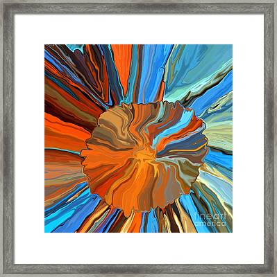 Flower Close-up Framed Print