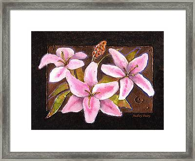 Flower Icon Framed Print