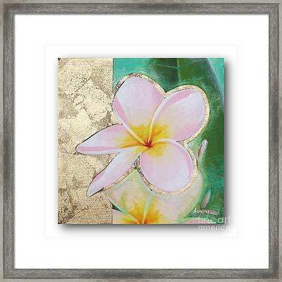 flower painting FL062 Framed Print by Flower Paintings