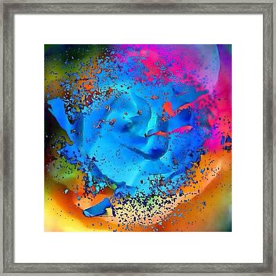 Flower Power - Let's Get Groovadelic! Framed Print