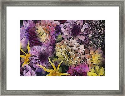 Flower Power Framed Print by Trish Tritz