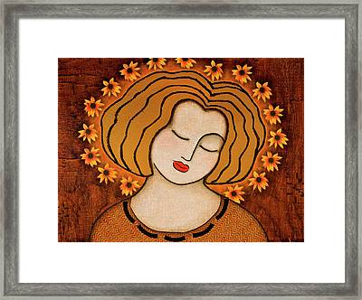 Flowering Intuition Framed Print