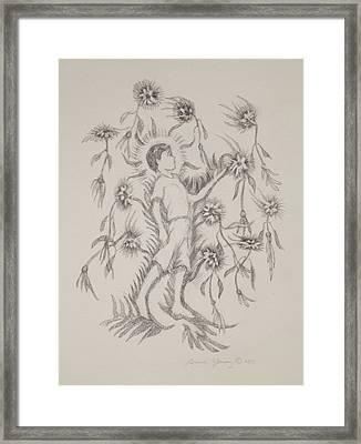 Flowers Ascending Framed Print by Bruce Zboray