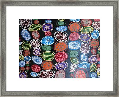 Flowers At Night 1 Framed Print