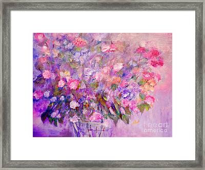 Flowers For Mother Framed Print
