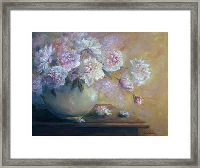 Flowers In June Framed Print