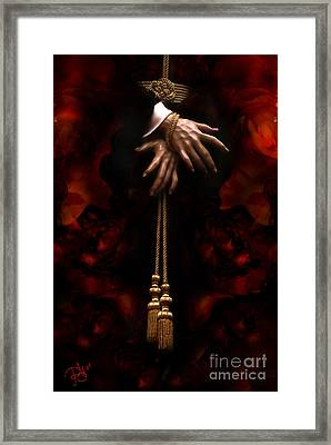 Flowers Of The Passion Framed Print by Rosa Cobos