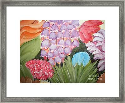 Flowers Framed Print by Rachel Carmichael