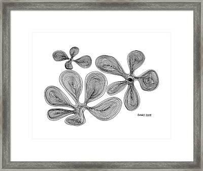 Flowers Framed Print by Suhas Tavkar