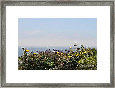 Flowerview Framed Print by Nicky Dou