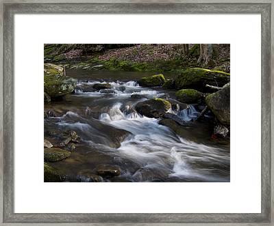 Flowing Love Framed Print by Victoria Ashley