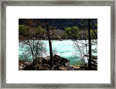 Framed Print featuring the photograph Flowing Streams by Pravine Chester