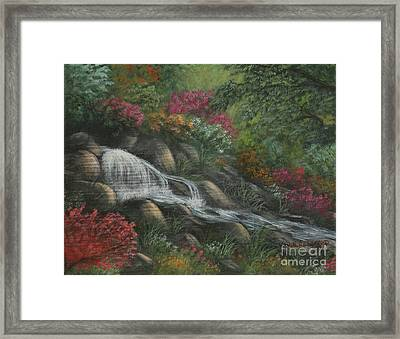 Flowing Waters Framed Print by Kristi Roberts