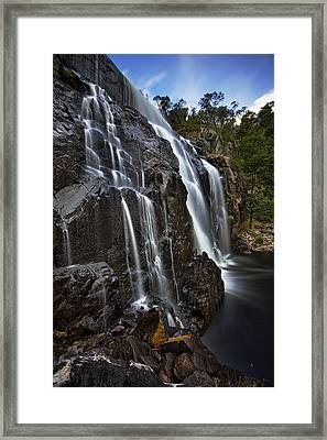 Flows Framed Print by Dave Cox