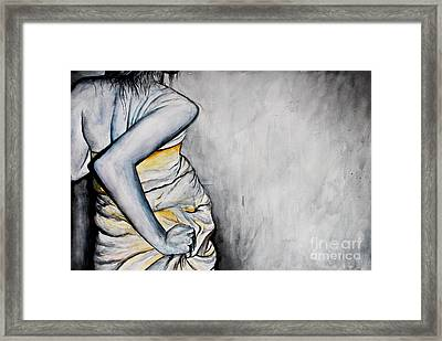Fluid Essence Framed Print by Sarah Ashbaugh