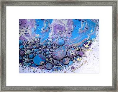 Fluidism Aspect 116 Photography Framed Print by Robert Kernodle
