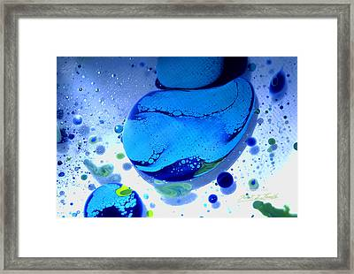 Fluidism Aspect 166 Photography Framed Print by Robert Kernodle