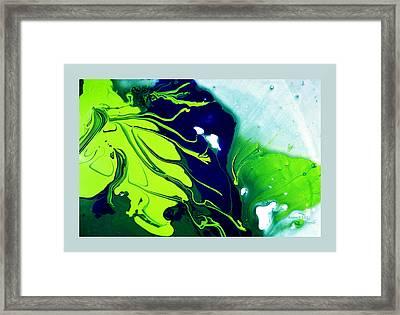 Fluidism Aspect 185 Frame Framed Print by Robert Kernodle