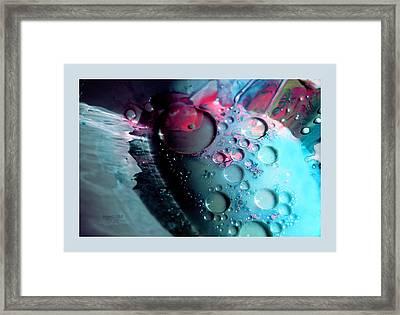 Fluidism Aspect 283 Frame Framed Print by Robert Kernodle
