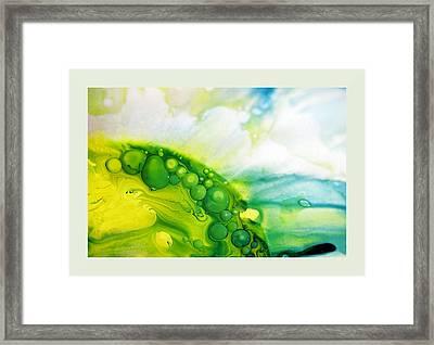 Fluidism Aspect 35 Frame Framed Print by Robert Kernodle