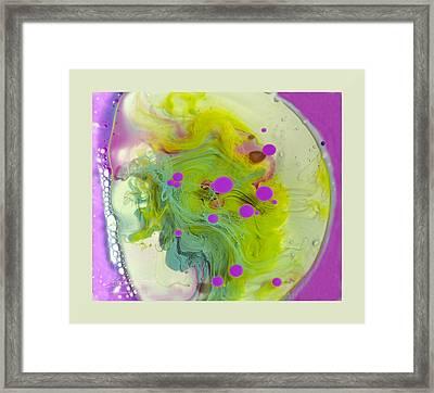 Fluidism Aspect 459 Frame Framed Print by Robert Kernodle