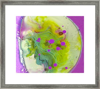 Fluidism Aspect 459 Photography Framed Print by Robert Kernodle