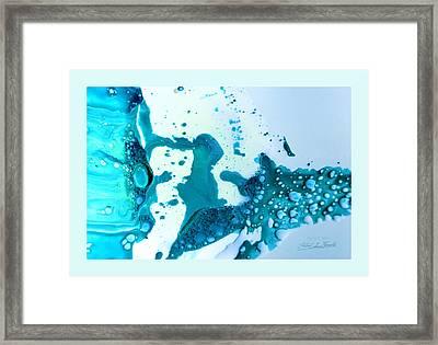 Fluidism Aspect 468 Frame Framed Print by Robert Kernodle