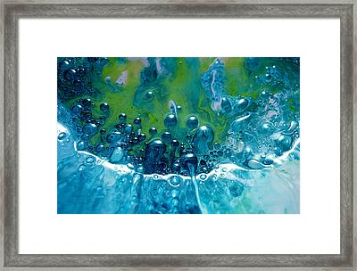 Fluidism Aspect 52 Photography Framed Print