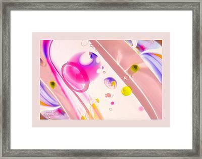 Fluidism Aspect 561 Frame Framed Print by Robert Kernodle