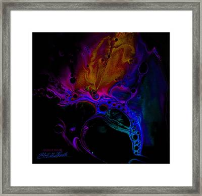 Fluidism Aspect 601-b Photography Framed Print by Robert Kernodle