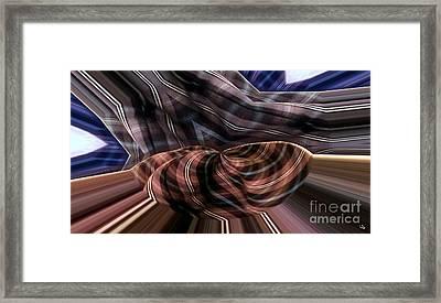 Fluttering Pjs Framed Print by Ron Bissett