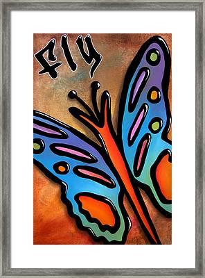 Fly By Fidostudio Framed Print