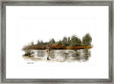 Fly Fishing Framed Print