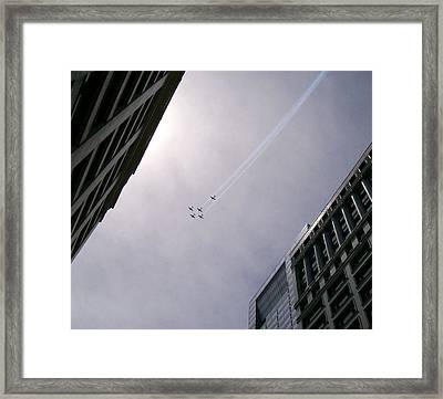Fly High With Me Framed Print