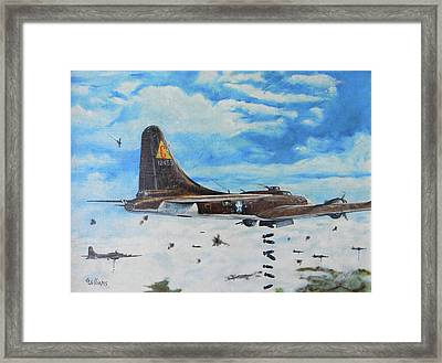 Flying Fortresses Framed Print