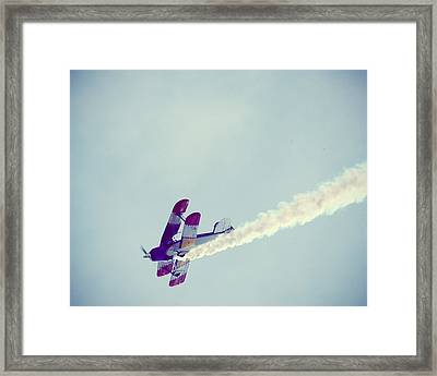 Flying High Framed Print by Amelia Matarazzo