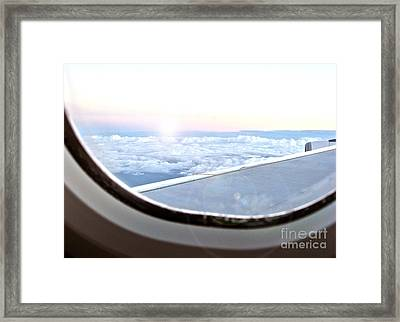 Flying Home Framed Print by Joanne Kocwin