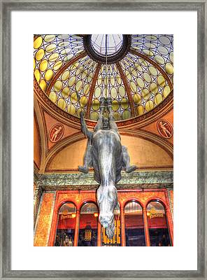 Flying Horse Framed Print by Barry R Jones Jr