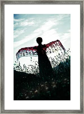 Flying Framed Print by Joana Kruse